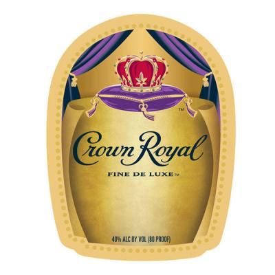 CROWN ROYAL DELUXE LABEL