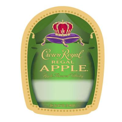 CROWN ROYAL REGAL APPLE LABEL