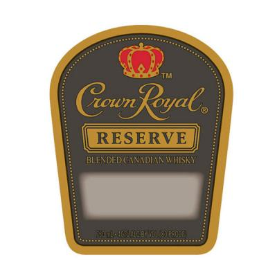 CROWN ROYAL RESERVE LABEL