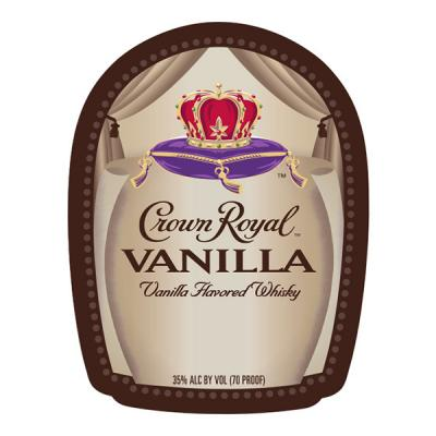 CROWN ROYAL VANILLA LABEL