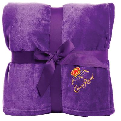 Crown Royal Purple Throw Blanket